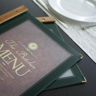 """menukaart """"Wood"""""""