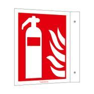 Brandblusser haaksbord