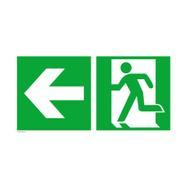 Nooduitgang links │ naar links