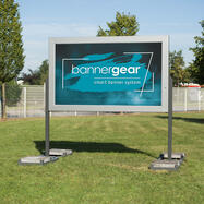"""bannergear® stand """"Mobile LED"""", 2-zijdig"""