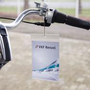 Pochette porte-étiquette en PVC souple avec 1 côté d'insertion