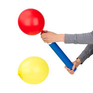 Handpomp voor ballonnen