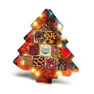 Sapin de Noël rempli de mini chocolats