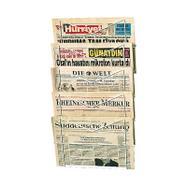 Krantenrek met draadvakken