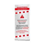"Rolbanner ""Stick"" incl. banner ""hamsteren"""