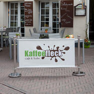 "Banner voor afzetting ""Café"""