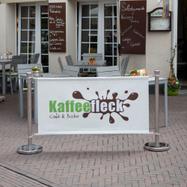 """Afzetpalen """"Café"""""""