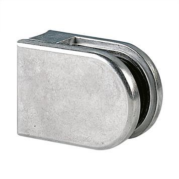 Glasklem voor bevestiging aan buizen van 48,3 - 50,8 mm ø / 6, 8 en 10 mm