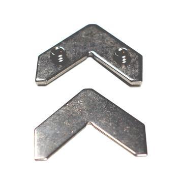 Hoekverbinder voor het textielframe profiel