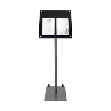 Standaard voor LED menudisplay