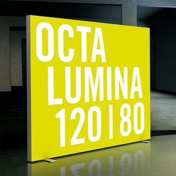 """LED lichtwand """"Octalumina 120"""" │ vrijstaand"""