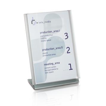 """L-standaard """"Ocean"""" │ van aluminium"""