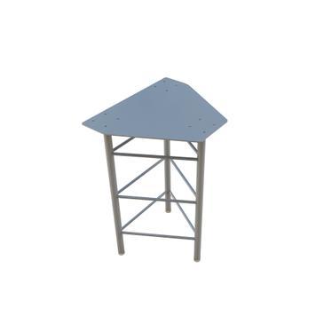 Outdoorsysteem Traverstar │ basisconstructie voor beton