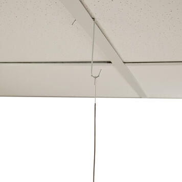 Suspended Ceiling Hook with Protruding Hook