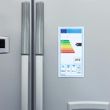 Prijskaarthoes voor energielabels │ met magneetband