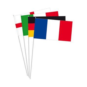 "Papieren vlaggetjes ""Landen"""