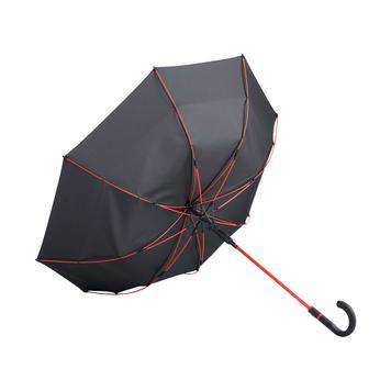 "Midsize paraplu ""Style"" met gekleurde stok en baleinen"