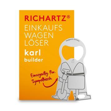 """Winkelwagenontkoppelaar """"Karl Constructer"""""""