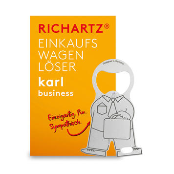 """Winkelwagenontkoppelaar """"Karl Business"""""""