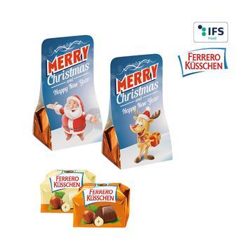 Ferrero Küsschen in een reclametasje