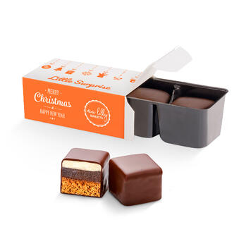 Chocoblokken in blisterverpakking - per 2