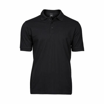 Heren Tee Jays Heavy Luxus Piqué Stretch Polo