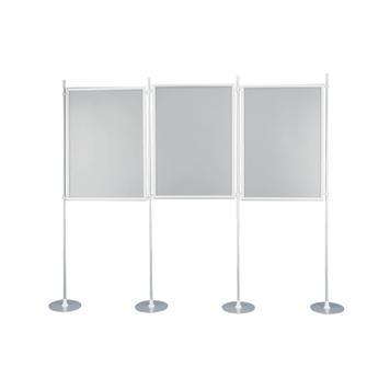 """Vouwwand """"Eco"""" met aluminium kliklijsten"""