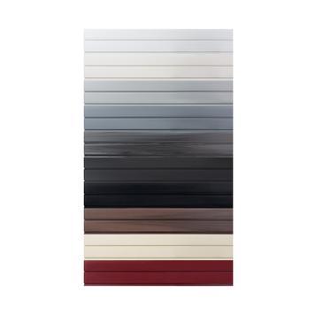 Lamellenwand FlexiSlot®-profiel op gewenste lengte