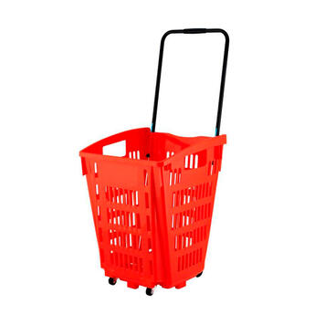 Rolling Basket 52 liter │ om te trekken