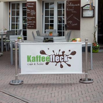 "Banner voor afzetsysteem ""Café"""