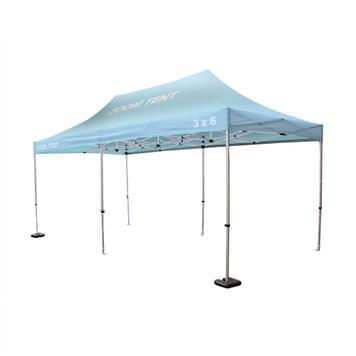 """Tente promotionnelle """"Zoom"""" 6 x 3 m"""