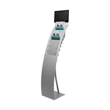 "Folderhouder met digitale mediaplayer ""STAND.Flash SIZE Slimline14"""