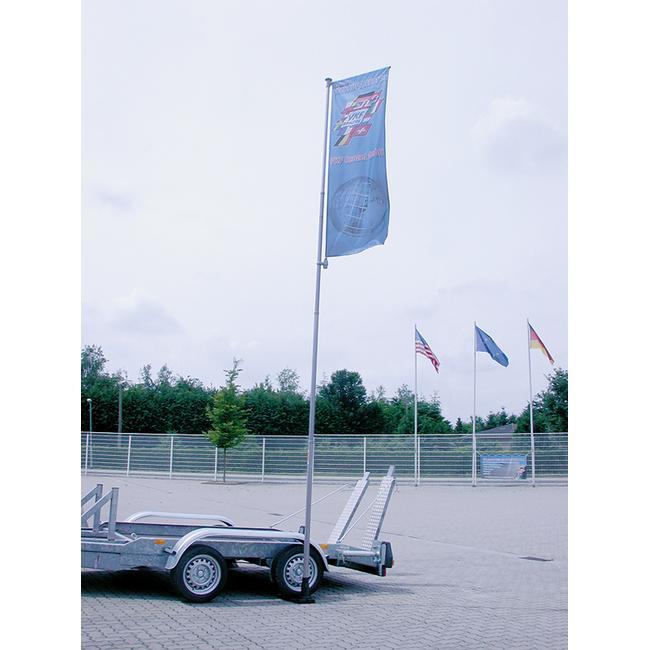 Vlag voor telescopische vlaggenmast