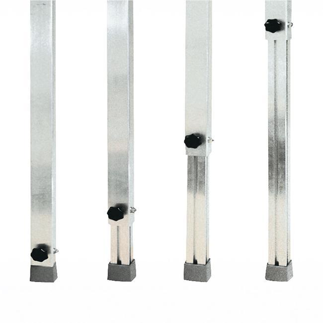 """Telescopische poot voor podia """"NIVOflex® Light N"""""""