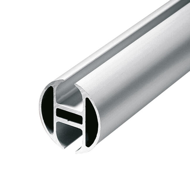 "Aluminium koppelprofiel ""Rail"" │ rond"