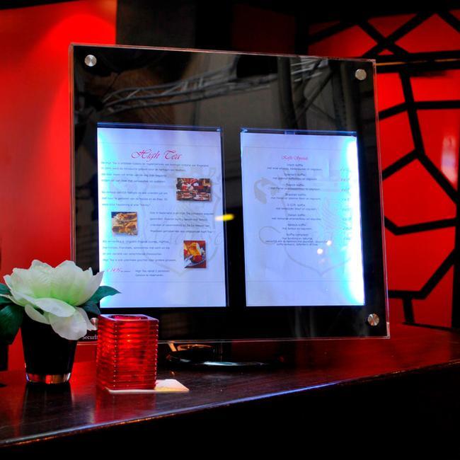 LED menudisplay