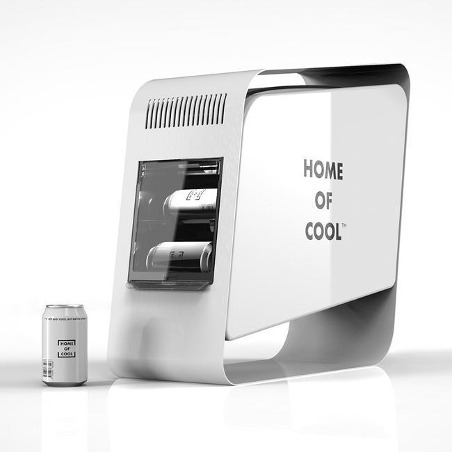 "POS Cooler ""Home of Cool"", koelvitrine"