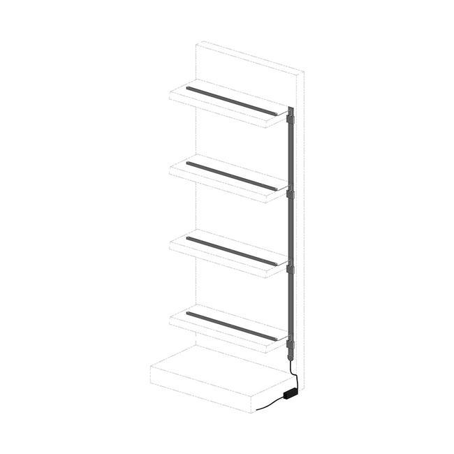 "Shelf Lighting System ""FlexiPower"""