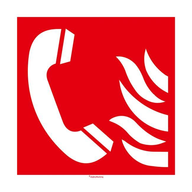 Brandmeld telefoon
