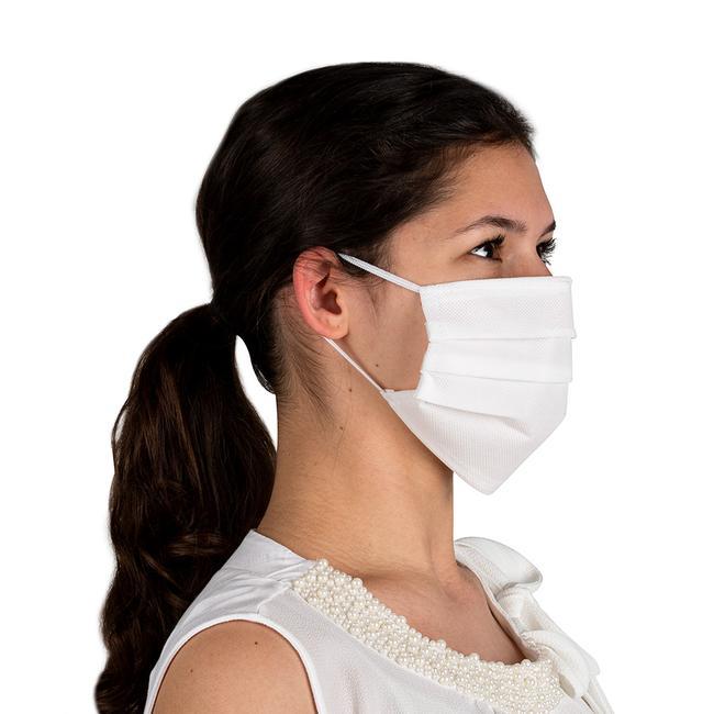 Masque de protection alternatif 100% non-tissé, 2 couches