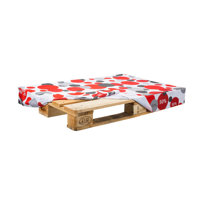 Pallethoes van polyester