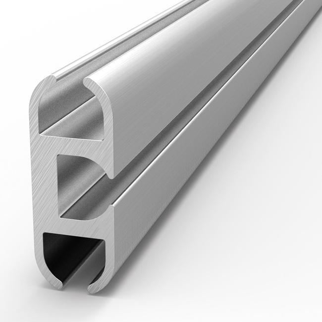 """Aluminium-peesrail plat """"Cover"""""""