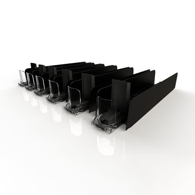 "Système d'alimentation de facing ""Adjustable Tray"""