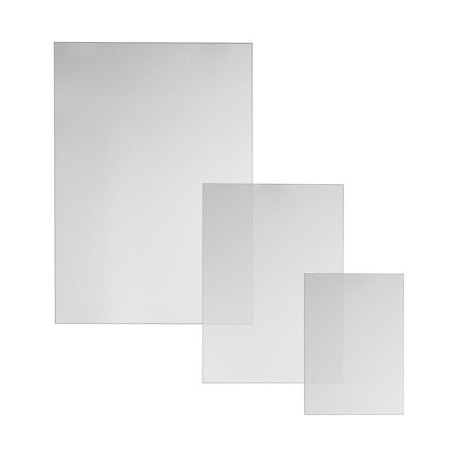 Plaque de plexiglass pour cadres clic-clac et stop-trottoirs