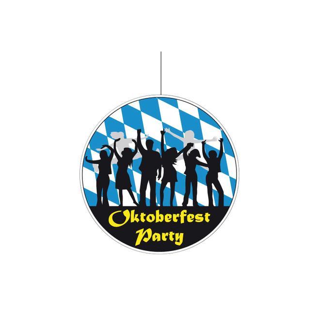 "Plafondhanger ""Oktoberfest Party"""