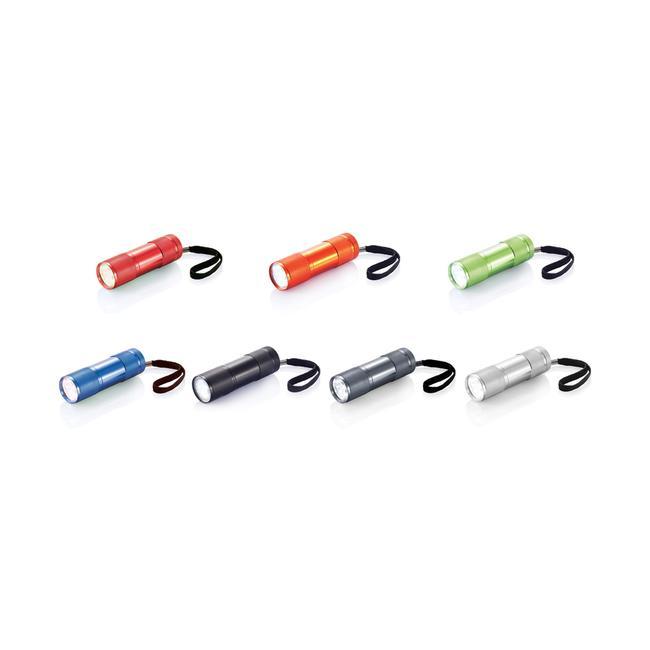 Quattro aluminium zaklamp