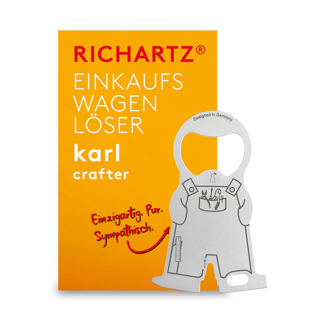 "Winkelwagenontkoppelaar ""Karl Home and Craftsman"""