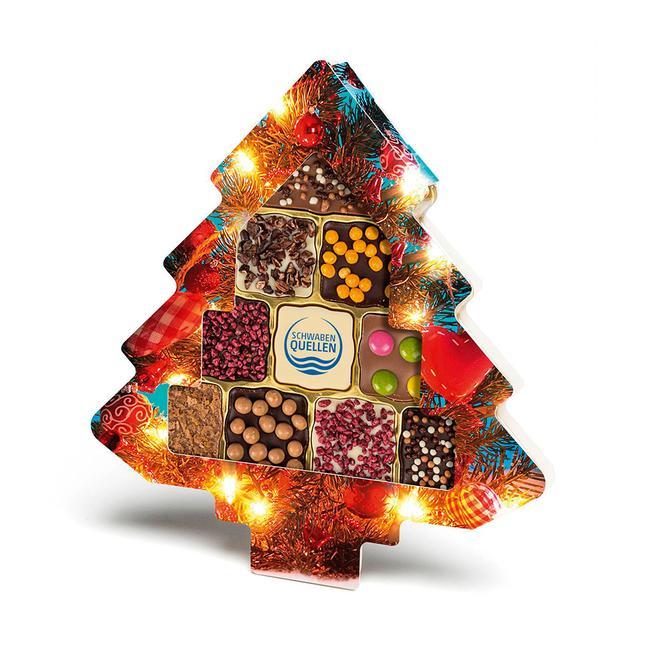 Schokini kerstboom