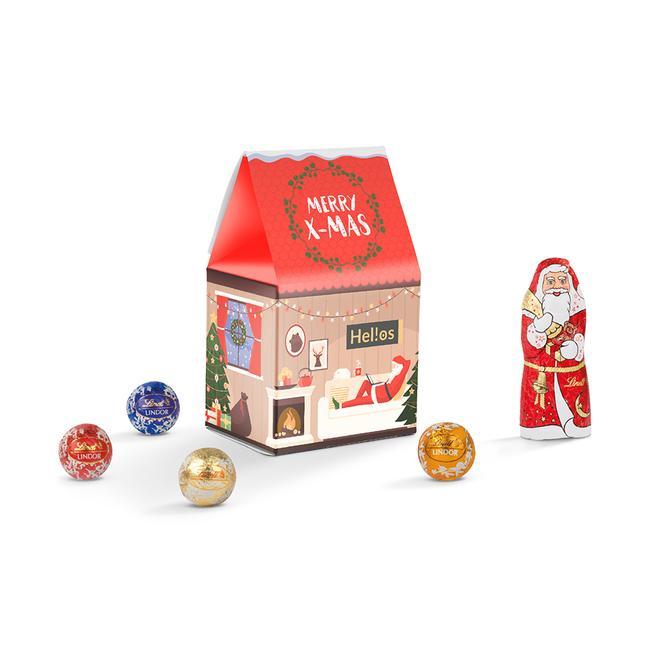 Lindt kerstgeschenkenbox