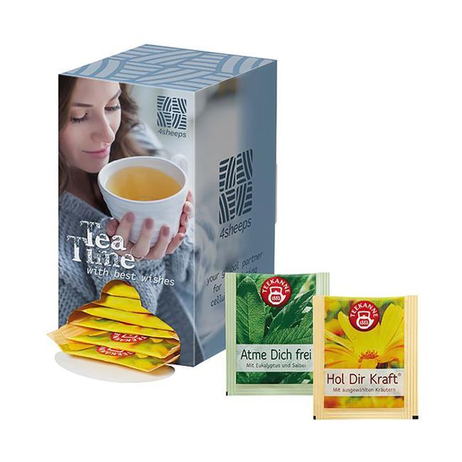 Theedispenser voor 24 dagen theegenot!